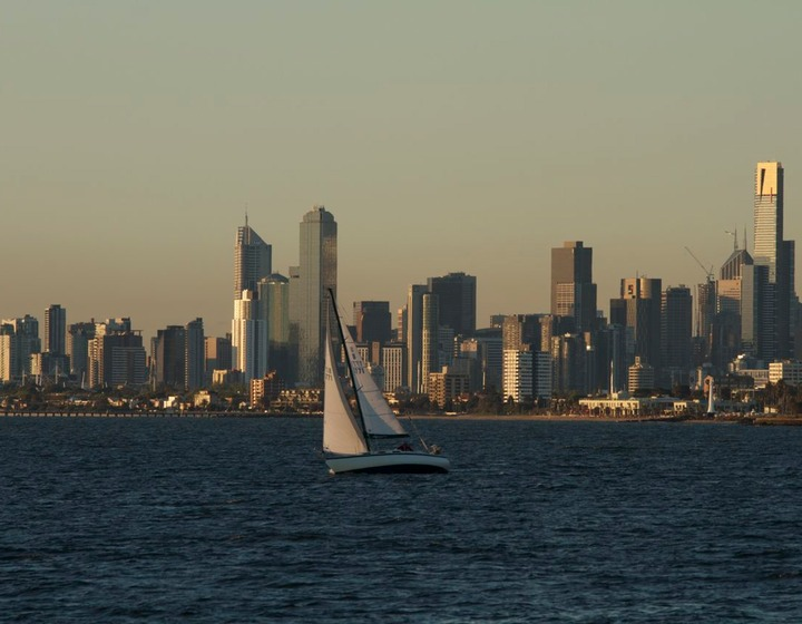Melbourne from Port Philip Bay