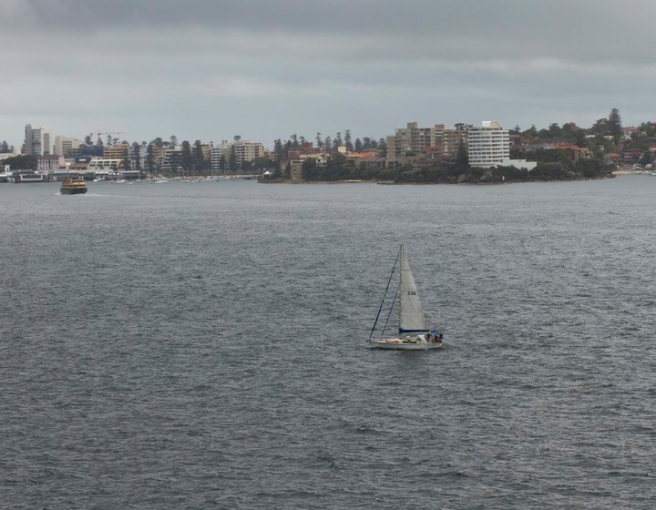 INew Horizons off Manly - Sydney Harbour